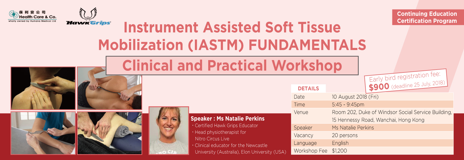 Instrument Assisted Soft Tissue Mobilization (IASTM) FUNDAMENTALS - Clinical and Practical Workshop